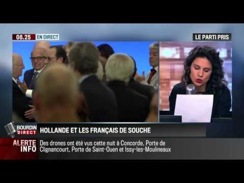 Le parti pris d'Apolline de Malherbe: François Hollande et les Français de souche