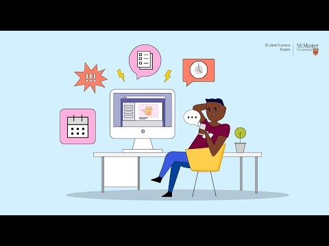 Watch Academic Skills Animated Series: Procrastination on Youtube.