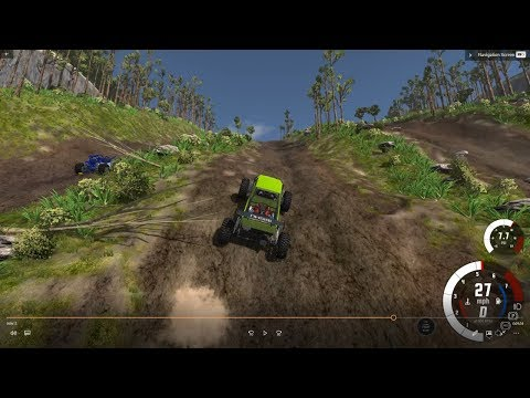 [Beamng.Drive] Uphill/ Mud Bog/Offroad Drag Racing/4X4