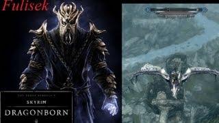 Skyrim Dragonborn PL - Latanie na smoku