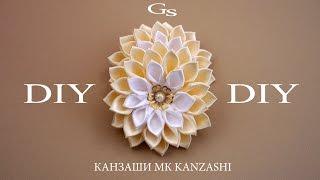 DIY: Весеннее настроение. Новая резиночка. Канзаши МК / Spring mood. New elastic. Kanzashi MK.