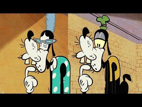 Goofy's Grandma | A Mickey Mouse Cartoon | Disney Shorts