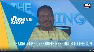 SHARIA: Mike Ozekhome responds to CJN Tanko's advocation