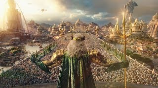 The History Of Atlantis And The Lost Trident Of Atlan | AQUAMAN (IMAX) [HD] Clip