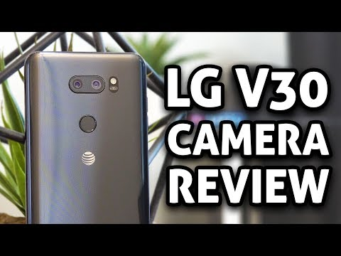 Best Smartphone Camera?! LG V30 CAMERA REVIEW (4K)