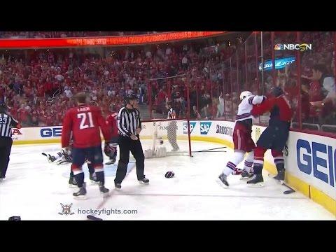 Tim Gleason vs. Tanner Glass