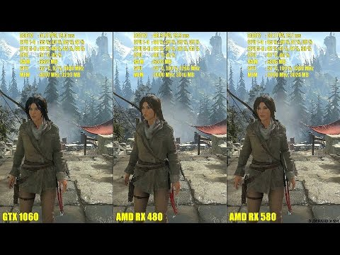 Anyone with RX 480 or RX 580 ? :: Rise of the Tomb Raider