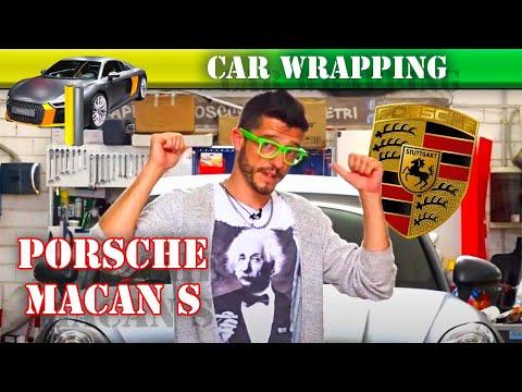 Porsche Macan S   wrapping in grigio opaco!