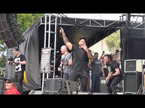 Bad Wolves -  Zombie (The Cranberries Cover) LIVE Welcome To Rockville [HD] 4/27/18