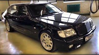 BRABUS S-CLASS W140 7.3S В ОРИГИНАЛЕ, BMW Z8 С ПРОБЕГОМ 1000 КМ, M5 E34 + BENTLEY & MERCEDES-BENZ!)