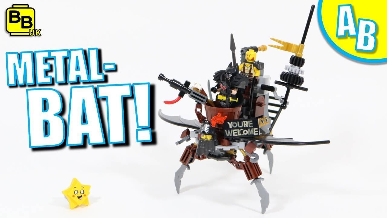 LEGO METAL-BAT 70836 ALTERNATIVE BUILD
