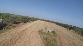 Eachine X220, fly over abandoned field in Puglia