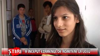A Inceput Examenului De Admitere In Liceu - Www.1tvbacau.ro (30.05.2013)