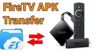 APK Dateien auf den FireTV Stick übertragen (Kodi installieren)