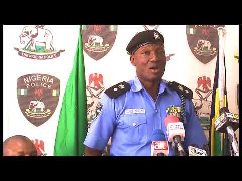 Police Parade Senior Member Of Don Wani's Gang, Desmond Okotubo