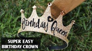 HAPPY BIRTHDAY CROWN FOR TEEN 2020 | BIRTHDAY CROWN 2020 | SUPER FAST BIRTHDAY CROWN 2020