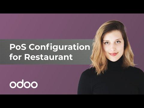 PoS-Konfiguration für Restaurants | Odoo POS