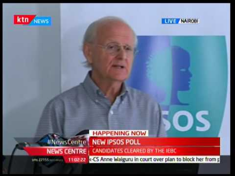 Tom Wolf-IPSOS Synovate links Kenya's food shortage as a reason to why NASA's tally may rise