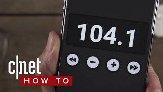Unlock the Hidden FM Tuner in Your Android Phone (CNET How To)