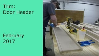 DIY Making Craftsman Style Door Headers