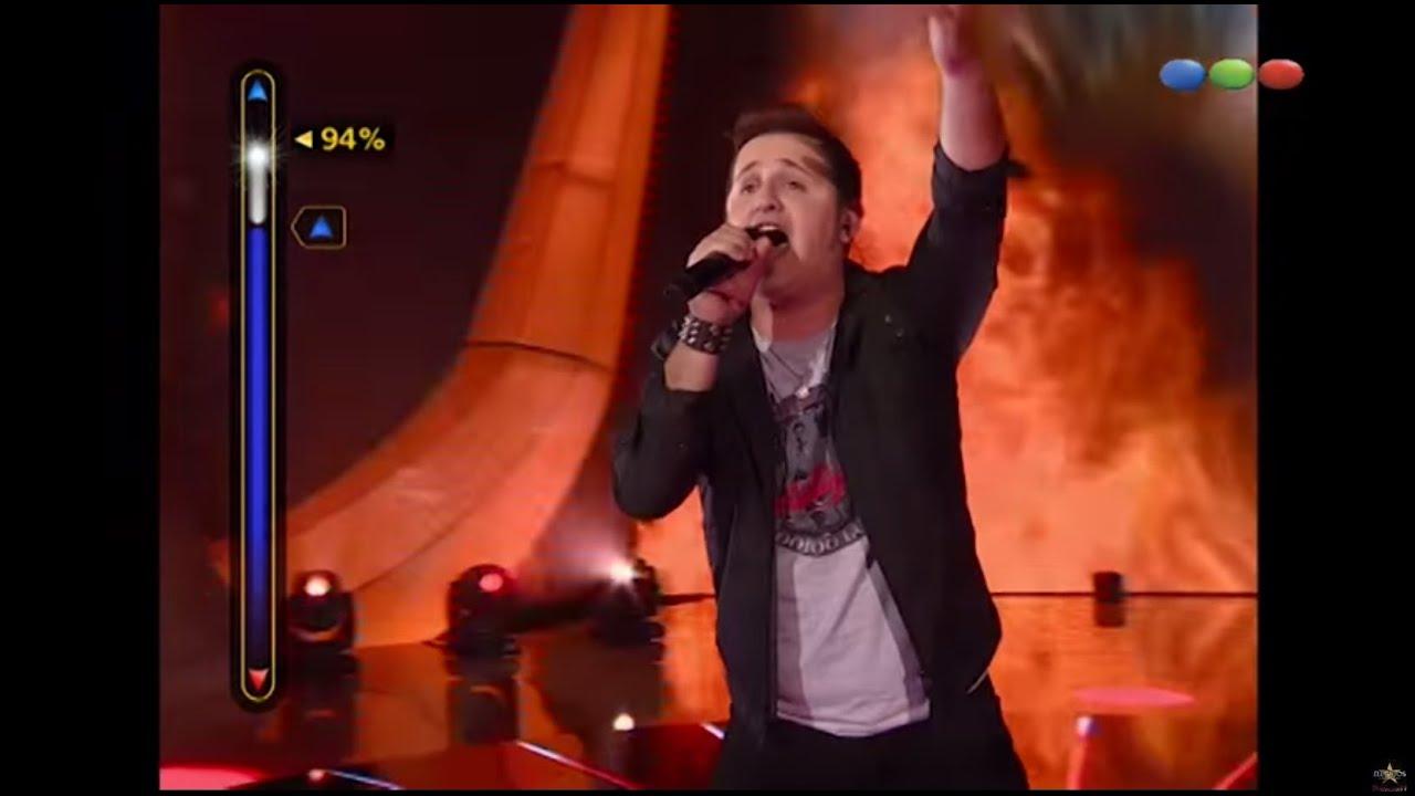 Matías Albertengo canta «Mujer amante» – Elegidos
