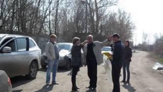 18 апреля 14 г. Субботник в п. Латное Семилукского района.