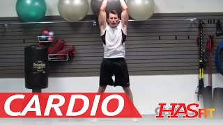 15 Minute Insanity Cardio Workout Exercises - HASfit's Cardiovascular Exercise - Insanity Workout