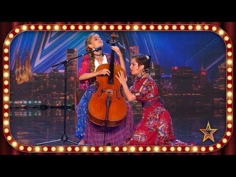 Estas HERMANAS homenajean a la CULTURA MEXICANA con LA LLORONA | Inéditos | Got Talent España 2019
