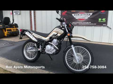 2020 Yamaha XT250 in Greenville, North Carolina - Video 1