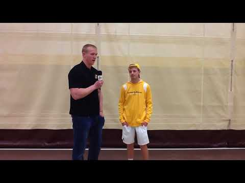Post Game Interview Men's Tennis vs Mount Vernon Nazarene