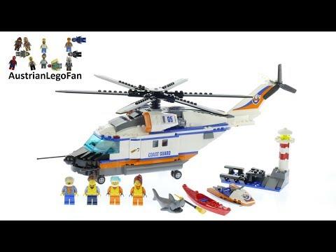 Vidéo LEGO City 60166 : L'hélicoptère de secours