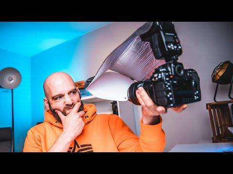 DIY Diffusor - Blitz in der Makrofotografie -
