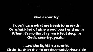 God's Country   Blake Shelton Lyrics