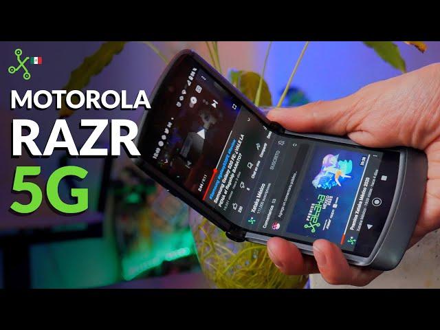 RAZR 5G: ¿vale la pena el plegable de Motorola de 34,999 pesos?