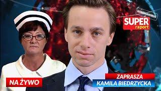 Krzysztof BOSAK, Dorota Gardias – przewodnicząca FZZ [NA ŻYWO] Super RAPORT