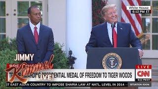 Trump on Kentucky Derby & Tiger Woods