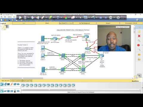 CCNP TSHOOT lab 1 - YouTube