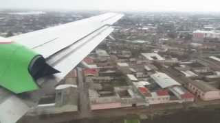 preview picture of video 'Uzbekistan Airways Il-114-100 - Flight from Termez (TMJ) to Tashkent Yuzhny (TAS), Uzbekistan'