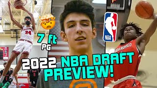 OFFICIAL 2022 NBA Draft Preview! What You NEED To Know About Chet Holmgren, Jaden Hardy & More 🔥