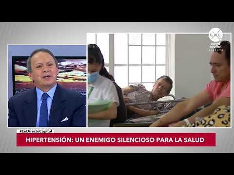 Ataque de los síntomas de crisis hipertensivas