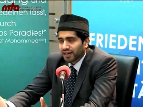 Die 'Muslime für Frieden'-Flyer-Kampagne in Berlin
