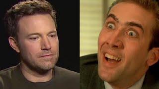 Nicolas Cage Reacts to Sad Ben Affleck