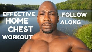 EFFECTIVE HOME CHEST WORKOUT TO FOLLOW ALONG by Tonys Pure Fitness