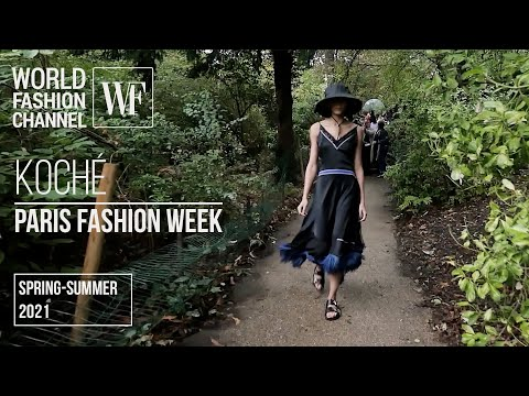 KOCHÉ spring-summer 2021   Paris Fashion Week