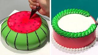 How To Make Cake Decorating For Special Event | Easy Cake Decorating Ideas | Beautiful Cake Design