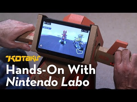 Nintendo Labo: Hands-On