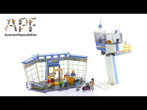 Vidéo PLAYMOBIL City Action 5338 : Aéroport avec tour de contrôle