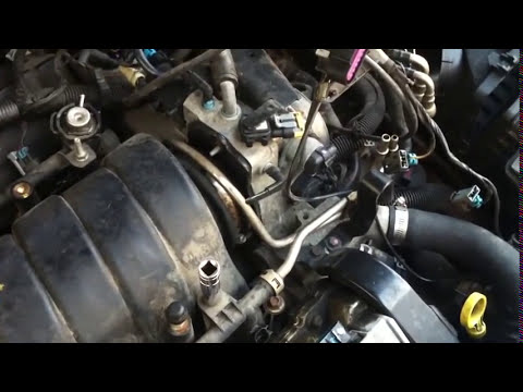 2003 pontiac grand prix engine diagram facial trigeminal nerve vacuum leak repair on cadillac northstar - auto videosauto videos