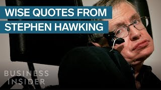 10 Of Stephen Hawking's Best Quotes