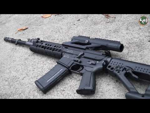 Rs556 5 56mm Assault Rifle Review Rheinmetall Steyr